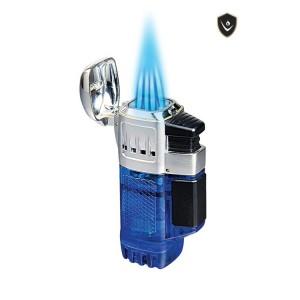 Quadtank Vector – Briquet torche quadruple flammes - Vector Pocket Lighter