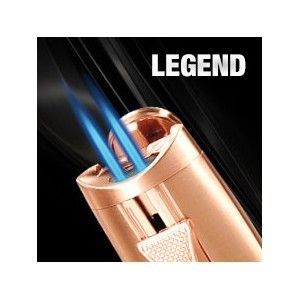 Legend Vector – Briquet torche double flammes - Vector Pocket Lighter
