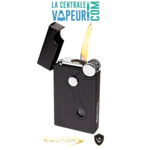 Elite Vector – Briquet double flammes – Elite Dual-Flames - Vector Pocket Lighter