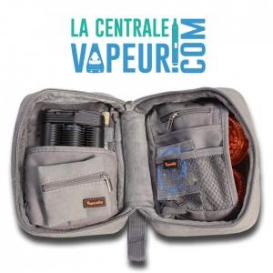 Vapesuite - pochette pour vaporisateurs - Large Grey