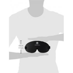 Mindfold Mask - 100% noir Garanti ! - masque pour dormir et bien plus