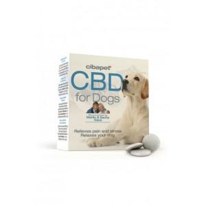 Cibapet 4% - 55 pastilles de CBD pour Chien