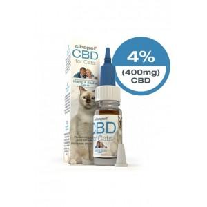 Huile 4% pour Chat- 10 ml - Cibapet Cibdol