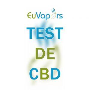 Test taux de CBD - Une variété