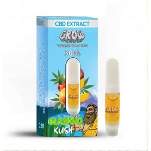 Mango Kush 0.8 ml cartouche d'extrait de CBD GROW