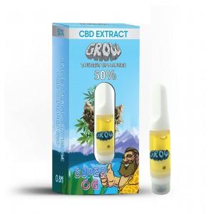 Super OG 1 ml cartouche d'extrait de CBD GROW